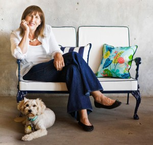 Cushions for vintage furniture add pizzazz to design