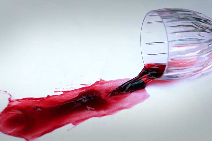 Don't cry over spilled wine! Cleaning Sunbrella is easy!