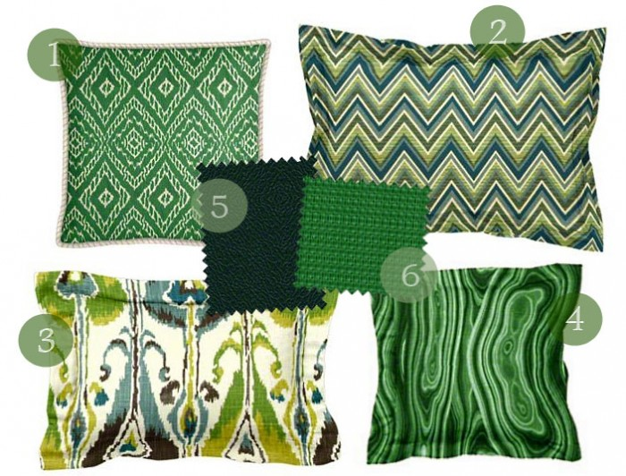 2014 Color Trends Greens