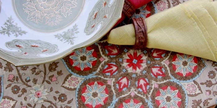 Make Your Tabletops Sparkle with Fresh Cotton Linen Fabrics